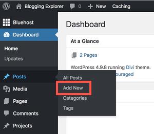 如何在 WordPress 中撰写博客文章