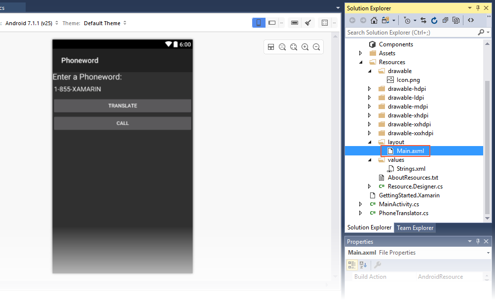 Xamarin.Android开发入门——Hello,Android Multiscreen快速上手 3