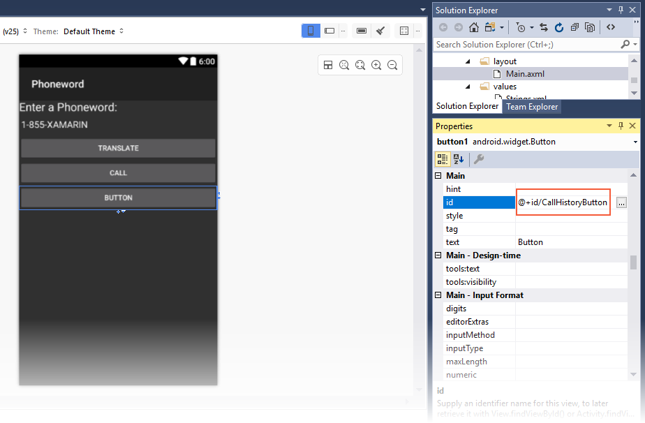 Xamarin.Android开发入门——Hello,Android Multiscreen快速上手 5