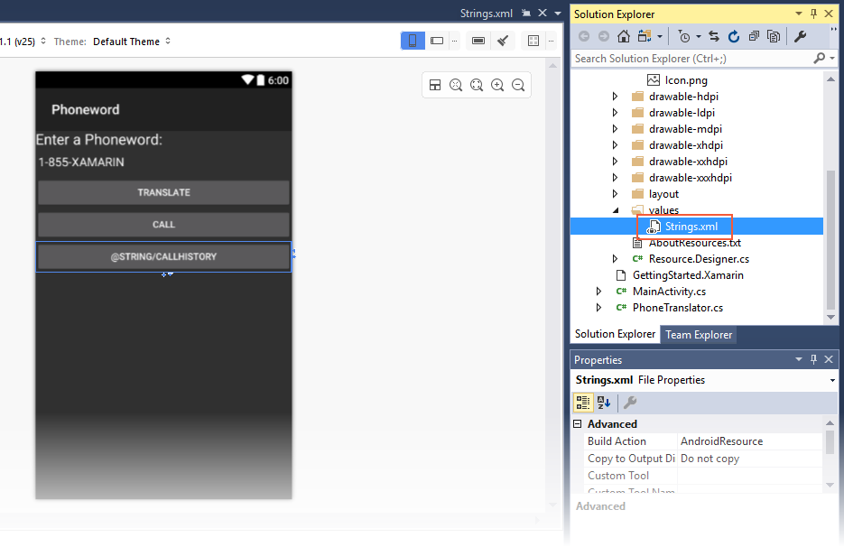 Xamarin.Android开发入门——Hello,Android Multiscreen快速上手 7