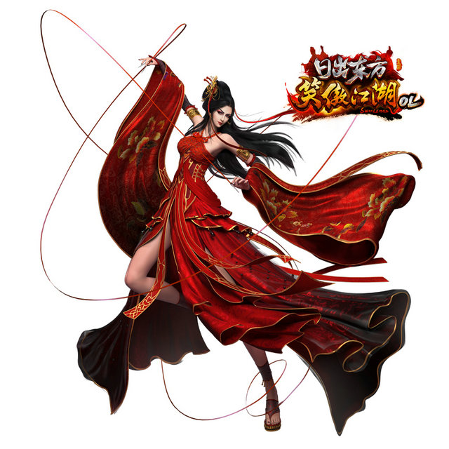笑傲江湖OL》官方圆梦行动:她的琉璃武器她的情怀 2