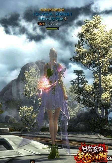 笑傲江湖OL》官方圆梦行动:她的琉璃武器她的情怀 3