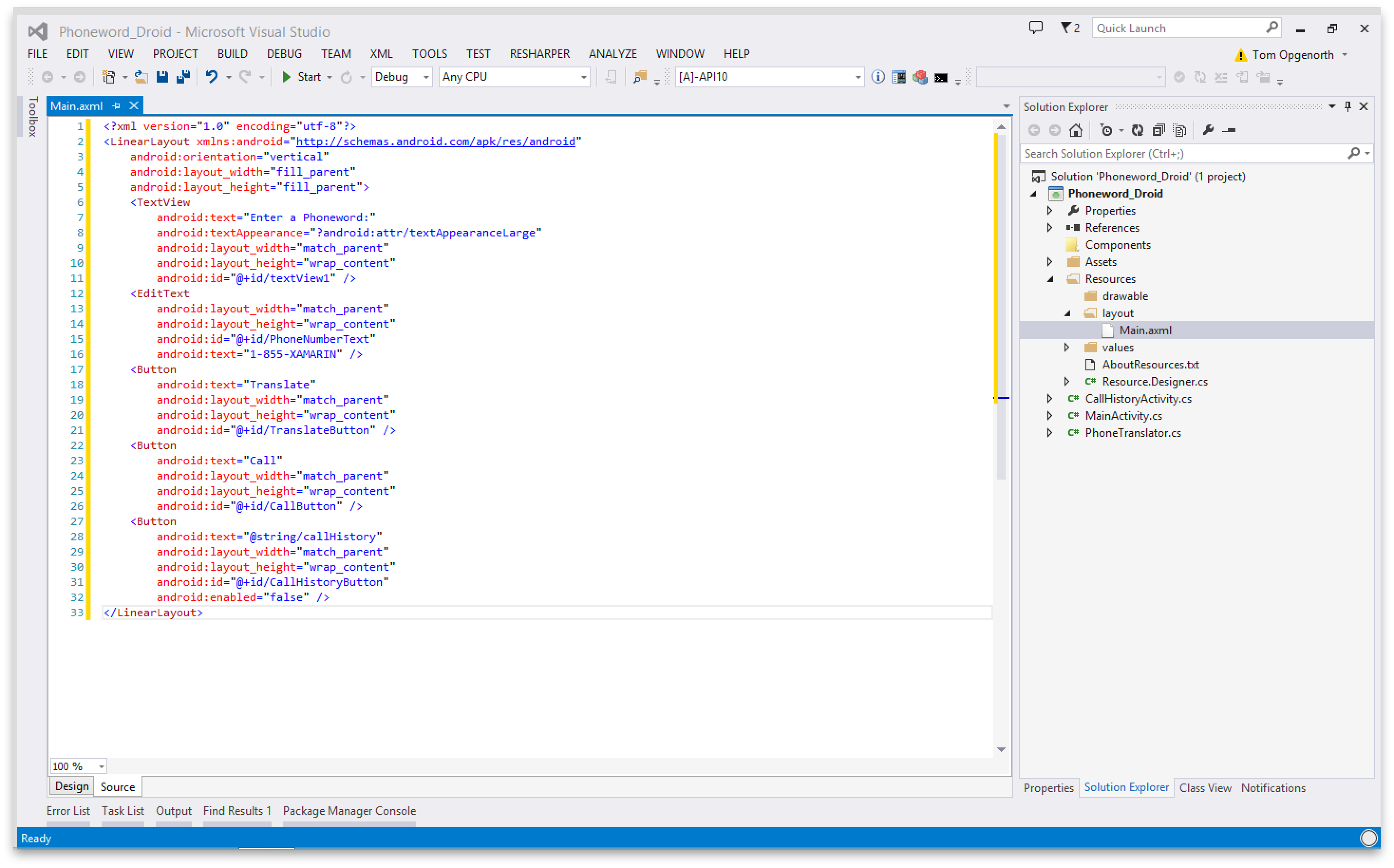 Xamarin.Android开发入门——Hello,Android深入理解 7