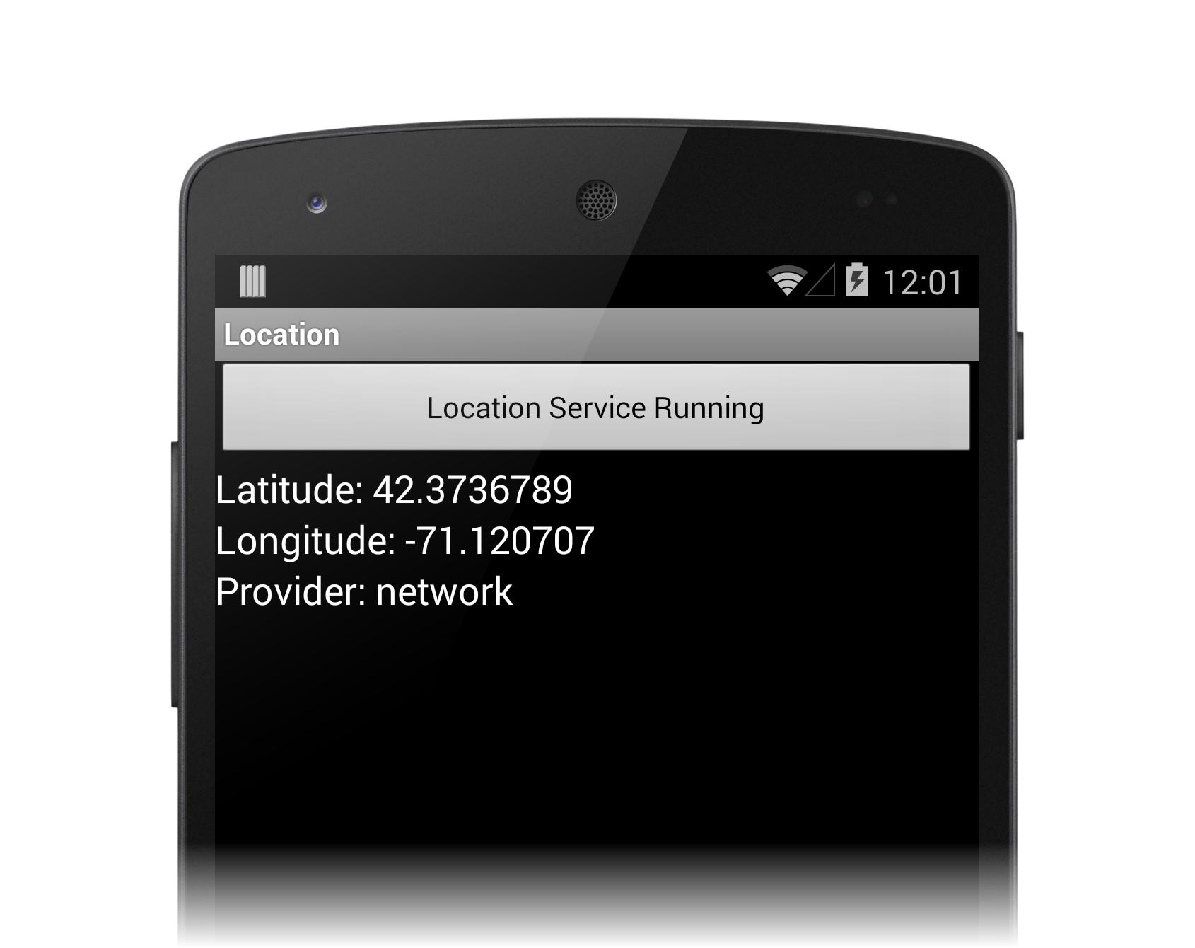 Xamarin.Android平台功能——位置服务 3