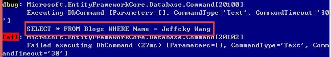 EntityFramework Core 2.0执行原始查询如何防止SQL注入? 7