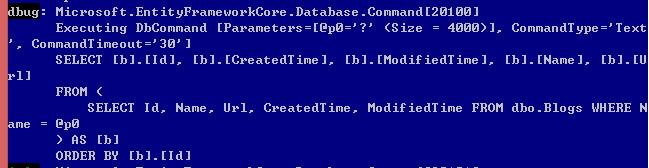 EntityFramework Core 2.0执行原始查询如何防止SQL注入? 8