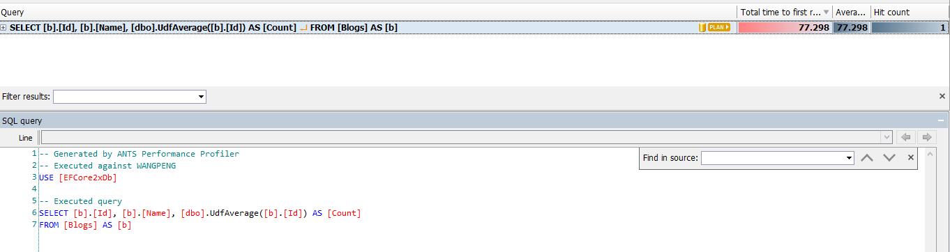 EntityFramework Core 2.0自定义标量函数两种方式 4