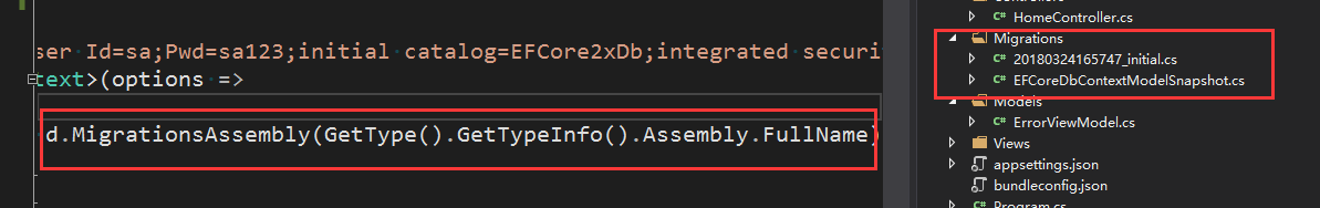 EF Core迁移原理运行dotnet ef命令迁移本质是什么? 18