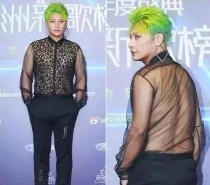 蔡妍脸部大走样竟被陈志朋的连体内衣抢了风头 7