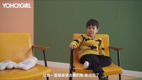 37岁霍思燕和儿子拍杂志封面 当妈的却输给了儿子 5