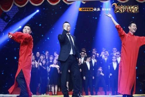 笑傲江湖之笑声传奇》贾冰和蔡明同台夺得本届大赛的冠军 5