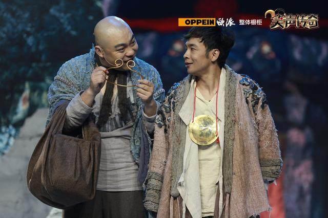 笑傲江湖之笑声传奇》贾冰和蔡明同台夺得本届大赛的冠军 2