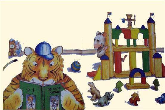 真正的朋友《小老鼠与大老虎 3