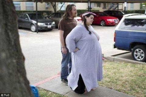 体重600斤女孩减肥成靓丽女神