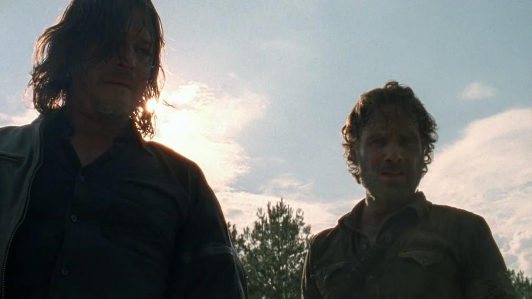 行尸走肉第八季第4集剧情之老虎救国王一命,瑞克终于拿到机枪 1
