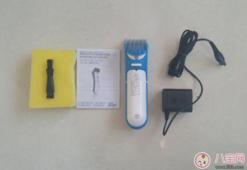 飞利浦宝宝理发器亲测 给孩子剪头发声音震动概况 1