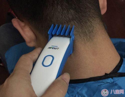 飞利浦宝宝理发器亲测 给孩子剪头发声音震动概况 5