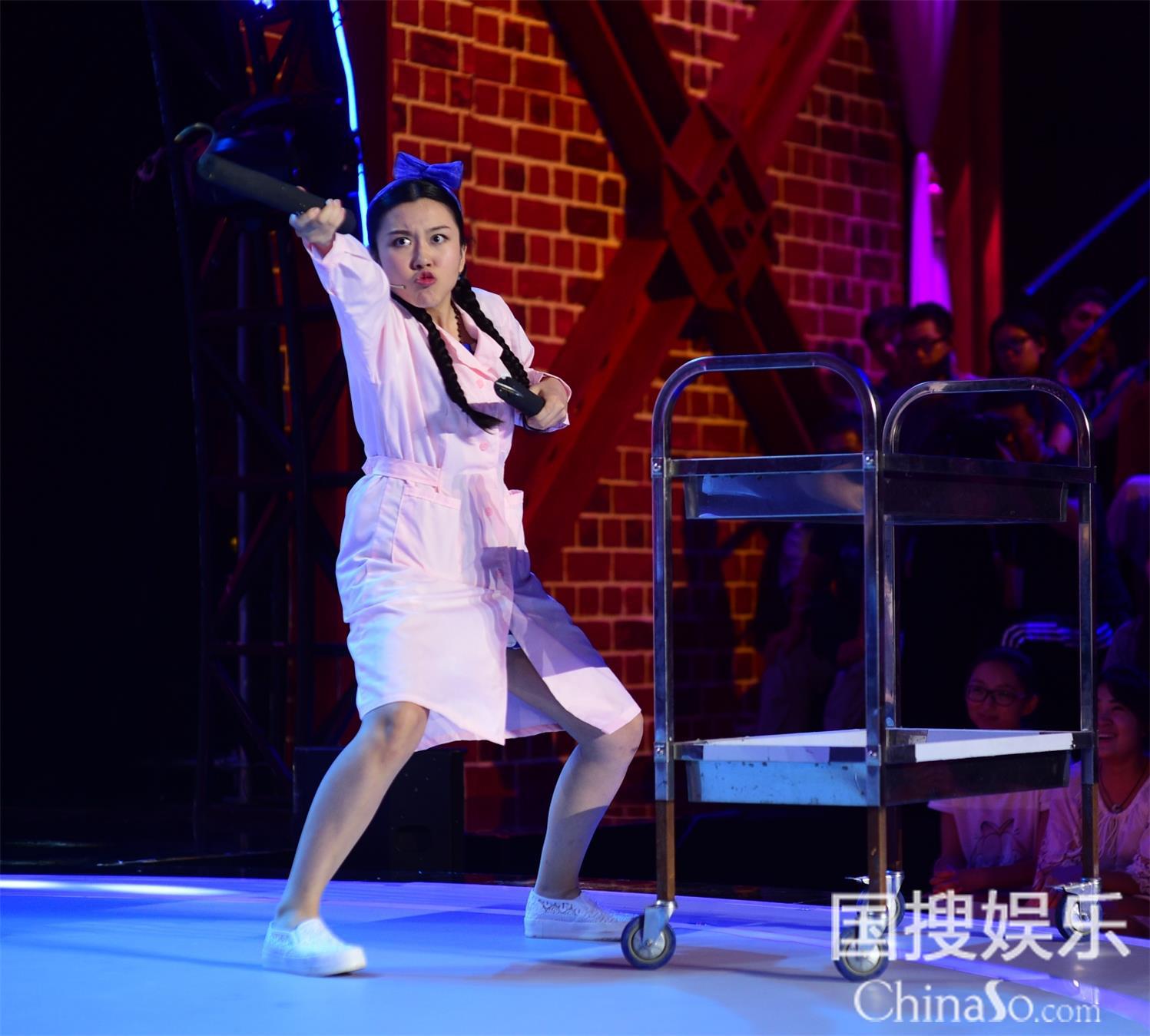美女选手陆敏雪对冯小刚撒娇 郭德纲:交男朋友了吗? 3