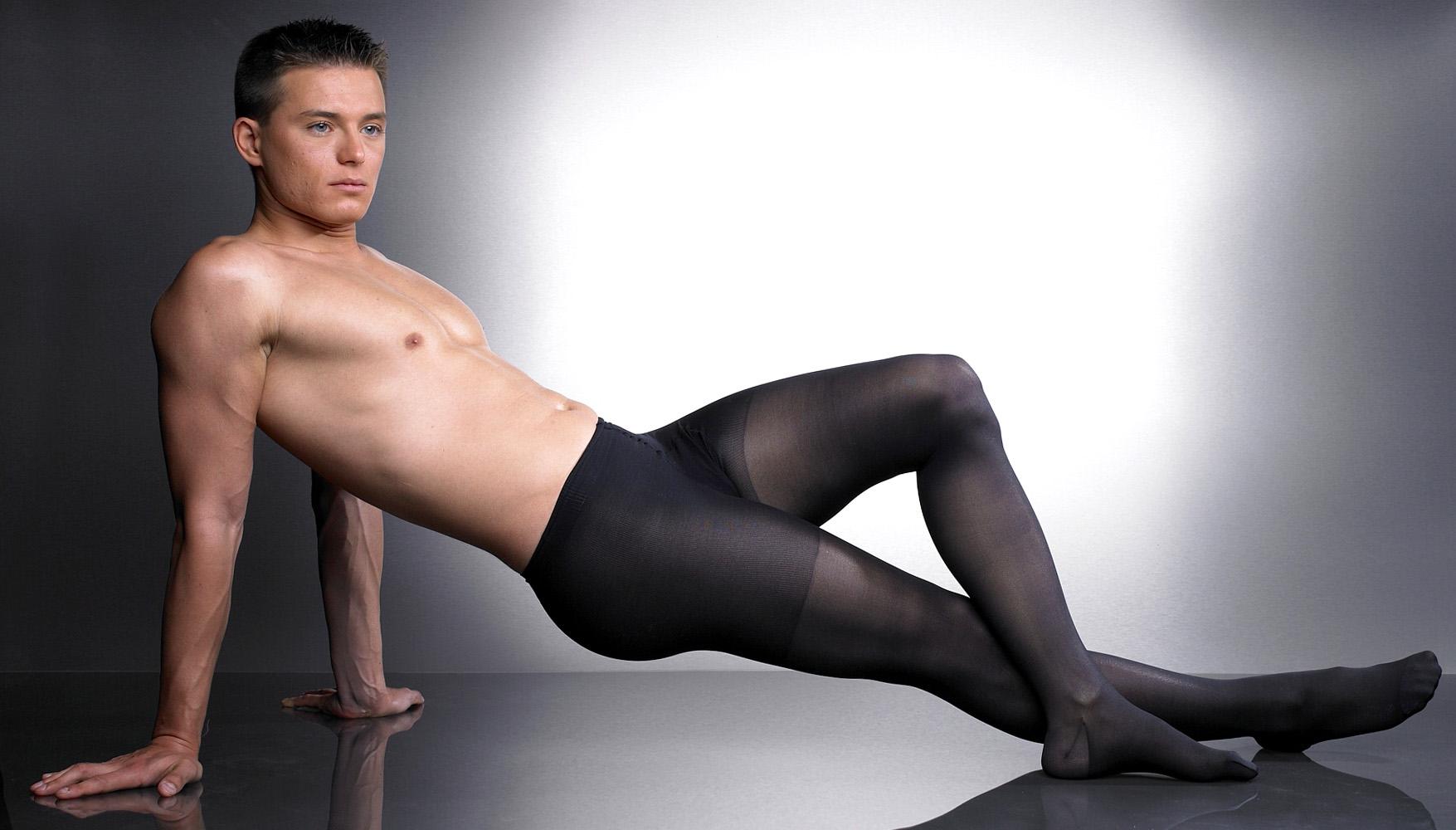 男人的丝袜和裤袜 3
