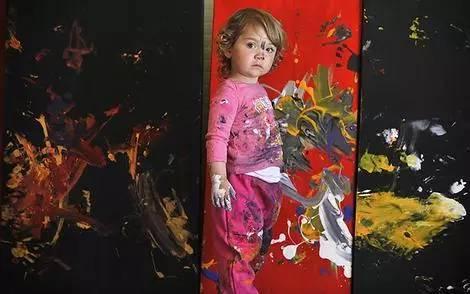 2岁办画展4岁收入百万的孩子到底是怎么教育的? 7