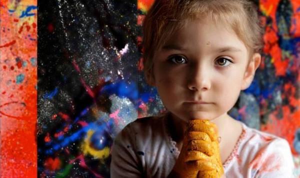 2岁办画展4岁收入百万的孩子到底是怎么教育的? 9