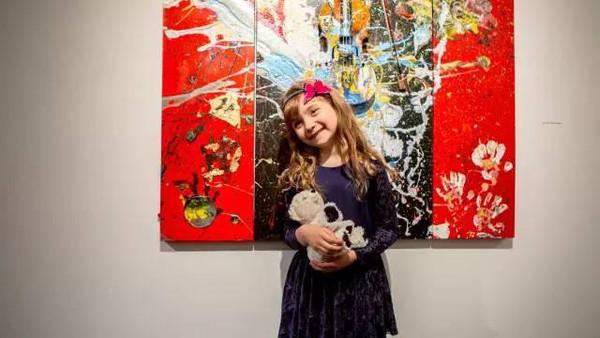 2岁办画展4岁收入百万的孩子到底是怎么教育的? 10