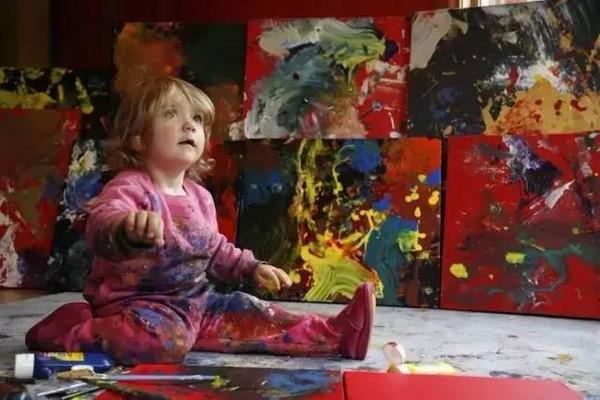2岁办画展4岁收入百万的孩子到底是怎么教育的? 4