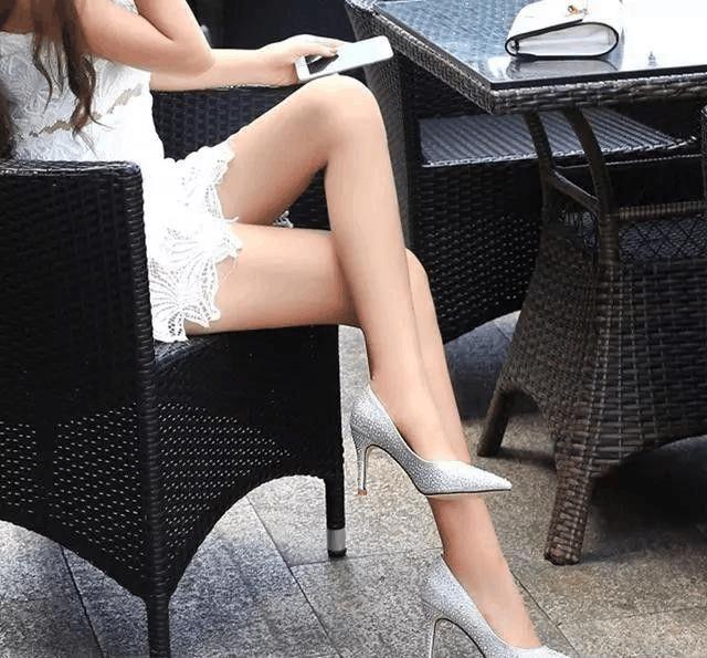 一天一个美丽姿态 高跟鞋甜蜜打扮女神范十足 5