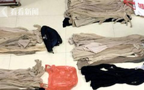 视频|小伙偷400多条女性丝袜内裤解压 曾想看心理医生