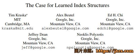 谷歌用ML模型替代数据库组件或彻底改变数据系统开发机器学习将取代数据库搜索