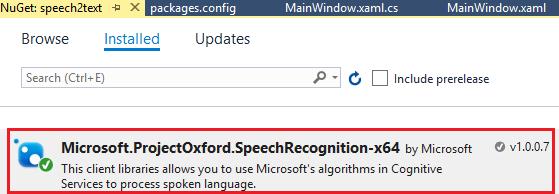 通过编写C#代码使用Azure AI 服务进行语音识别 5