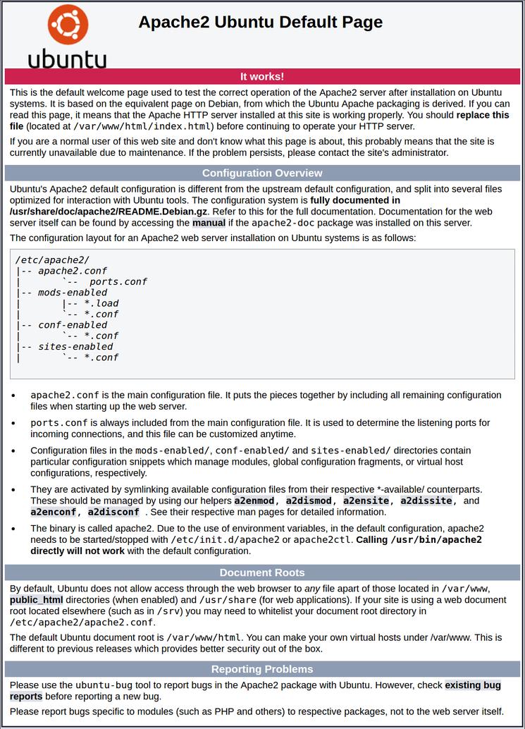 如何在Ubuntu安装Apache Web服务器