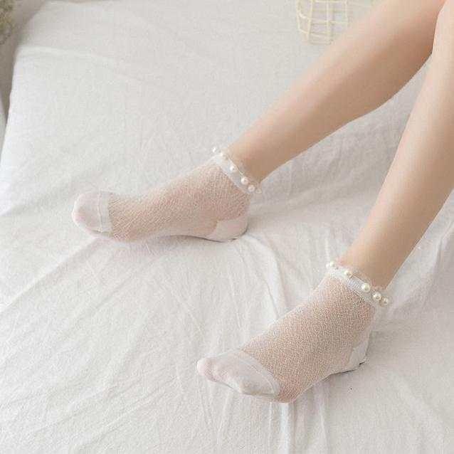 玉足搭配性感短丝袜 让你做一个冰爽的夏季女神 2
