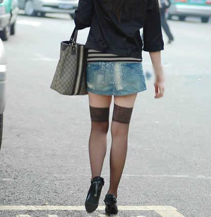 女人爱穿黑裤袜可穿对的没几个:女生不可以乱穿 5