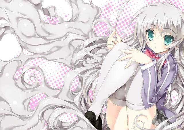 白丝诱惑!动漫中的那些白色连裤袜美少女 8