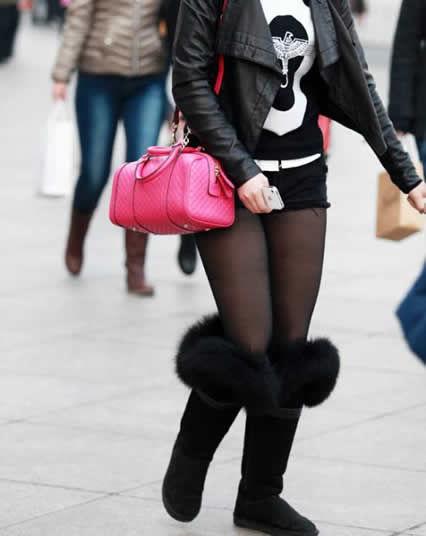 女人爱穿黑裤袜可穿对的没几个:女生不可以乱穿 4