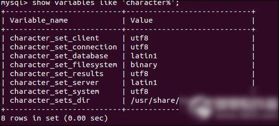 mysql编码设置教程 mysql编码要怎么设置呢 1