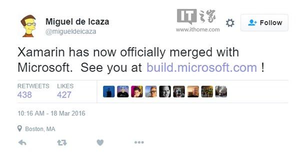 Build2016确认亮相!微软已彻底完成收购Xamarin 2