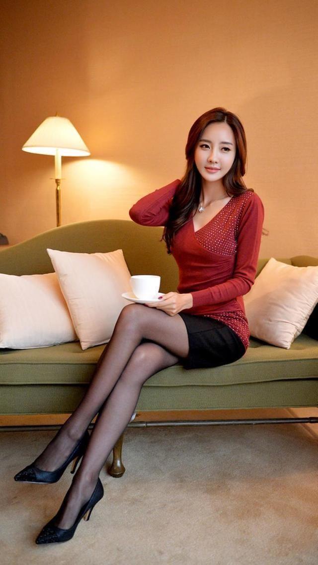 连裤袜喜欢穿短裙热裤美女的必备神器 7