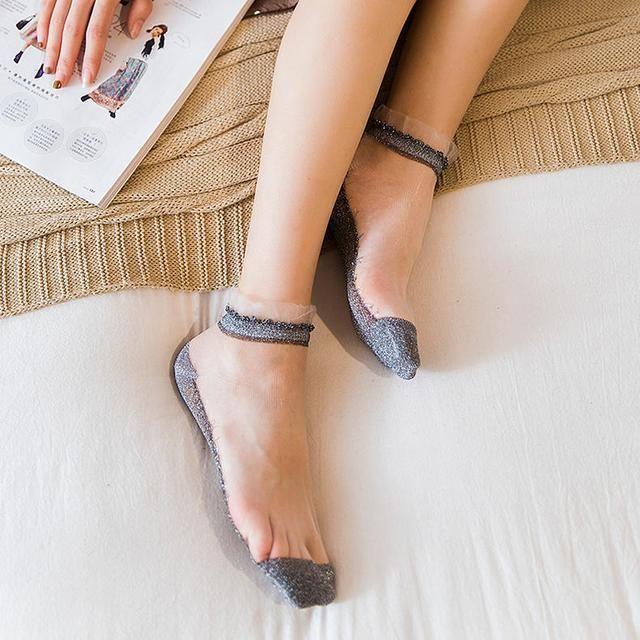 连裤袜、薄款短袜带给你脚底生风的别样体验 8