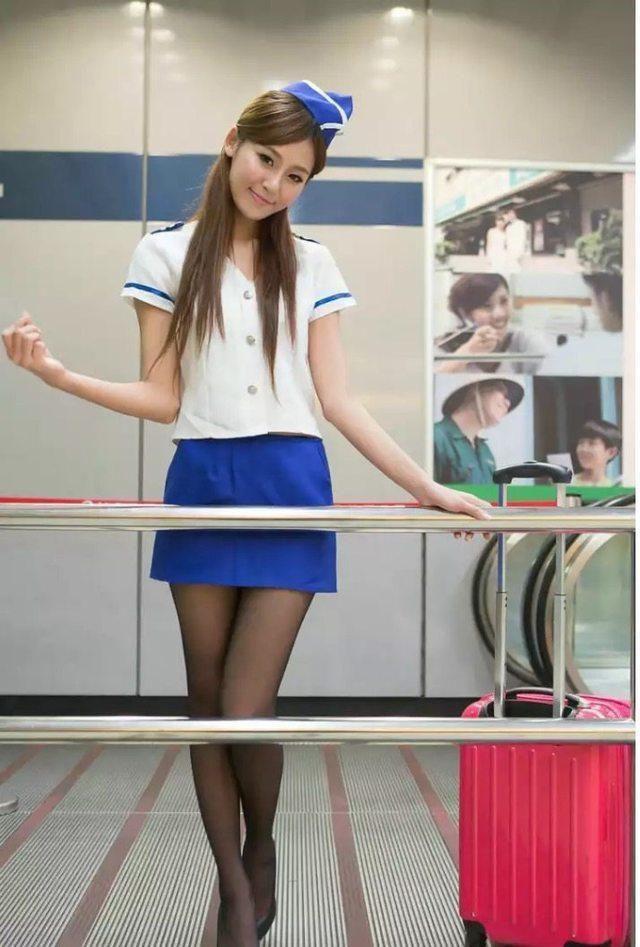 连裤袜喜欢穿短裙热裤美女的必备神器 5