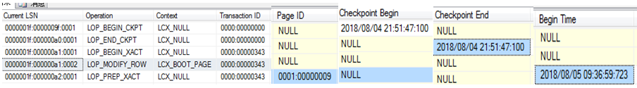 sql server 备份与恢复系列二 事务日志概述 1