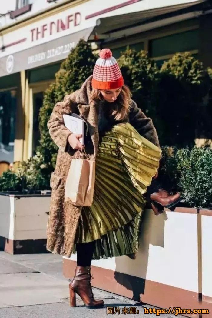 冬天长外套