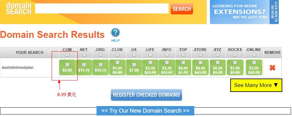 国外最便宜域名