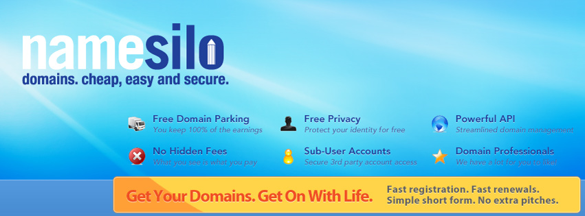 建站第一步注册域名,选择国外最便宜域名注册商 3