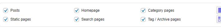 Posts和Static Pages设置