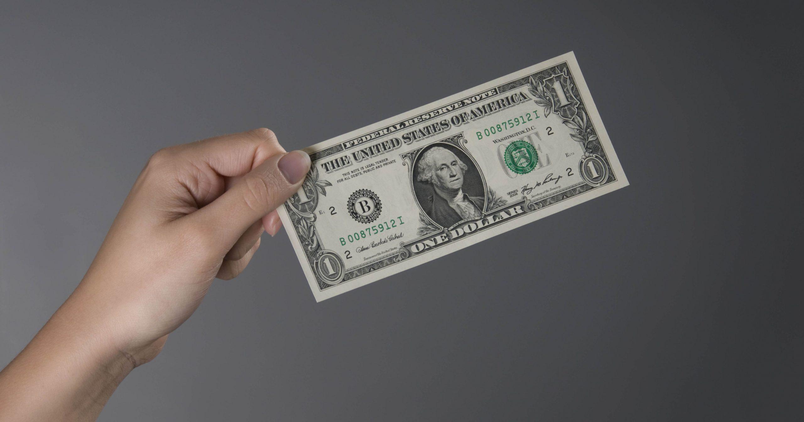 国外网赚,100美元意外收入
