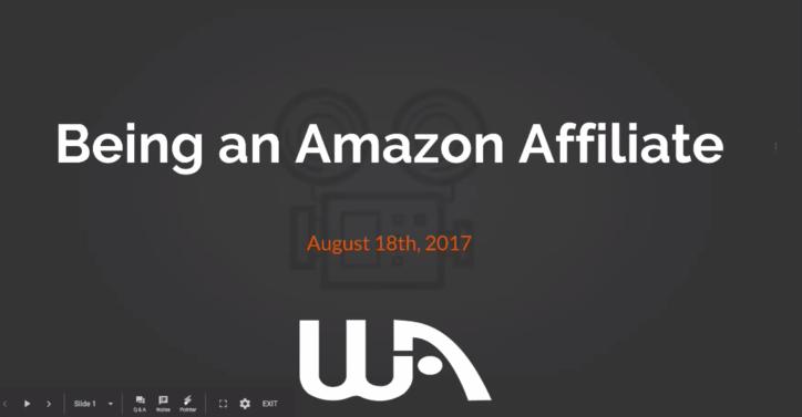 亚马逊联盟赚钱