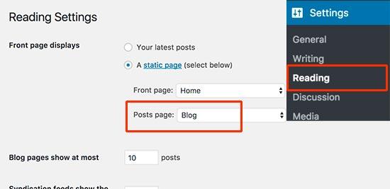 查找您的WordPress博客页面