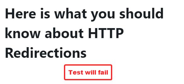焦点关键字测试失败的示例